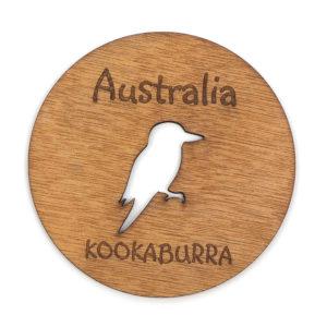laser-coaster-aussie-kookaburra