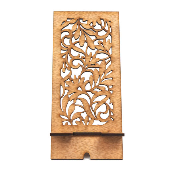 laser-phone-stand-flora-front